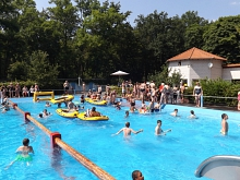 Sport-Event Freibad